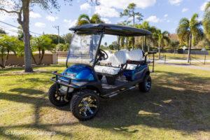 Club Car Precedent 6 Passenger Metallic Blue - SKU 634