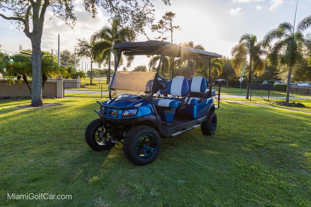 Club Car Tempo 6 Passenger Blue - SKU 635